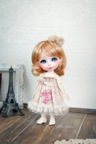Lati Yellow Chibi Momoiro Dress Cream