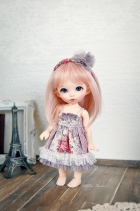 Lati Yellow Chibi Momoiro Dress Grape