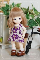 Pocket Fairy Bunka Antique Dress Violet