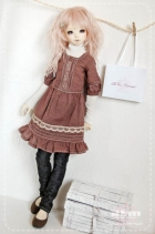 Unoa Vic Dress Brown