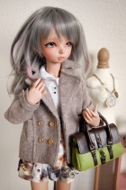 Unoa · MiniFee Dusty Brown Coat