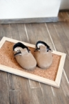Unoa & MnFee Milk Tea Birken Shoes