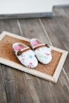 Unoa & MnFee Rose Frilly Birken Shoes