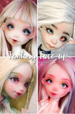 Fantasy Faceup by Lola