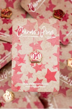 Crown Enamel Pin
